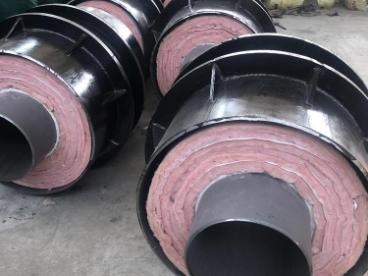 外滑动钢套钢蒸汽直埋保温管
