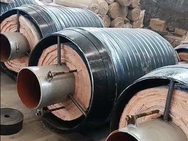 蒸汽用钢套钢直埋保温钢管