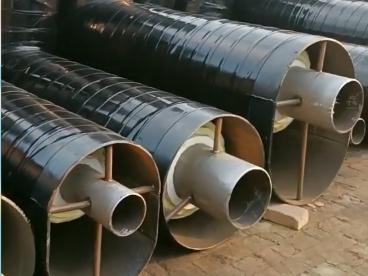 内滑动钢套钢蒸汽直埋保温管