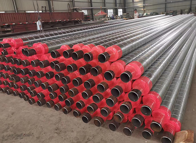 架空铁皮保温钢管
